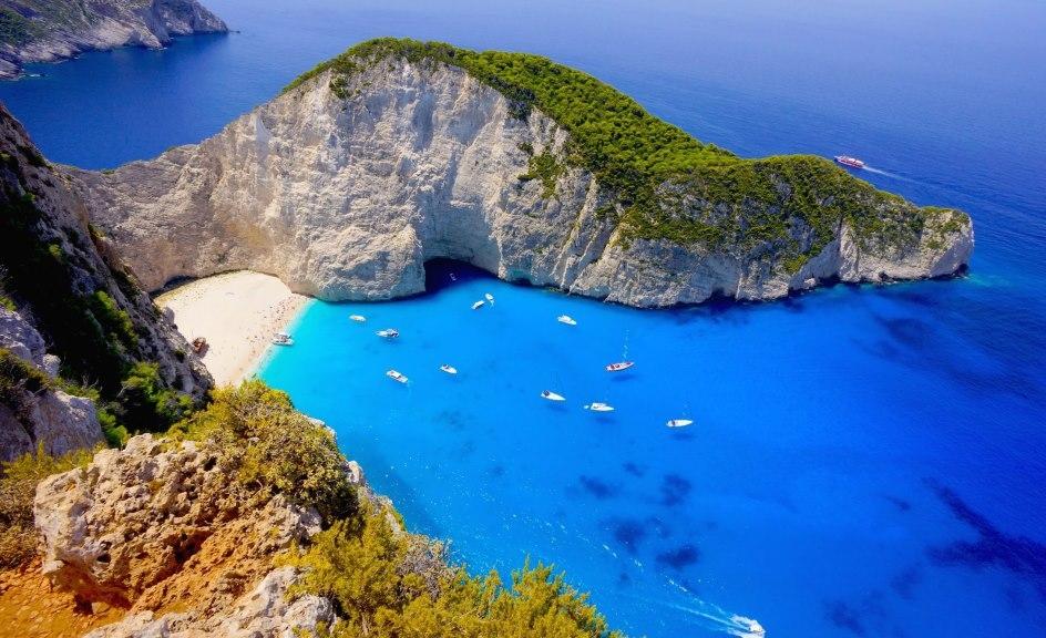 IGražiausia Graikijos sala Zakintas
